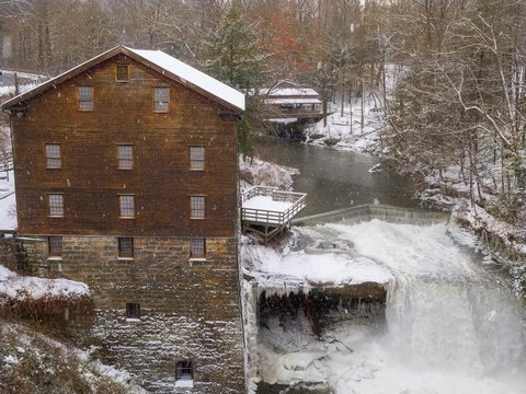 Mill in the Winter