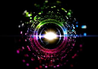 Hole of light