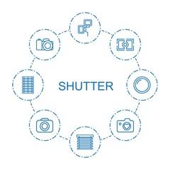 8 shutter icons