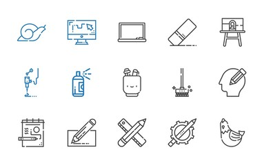 draw icons set