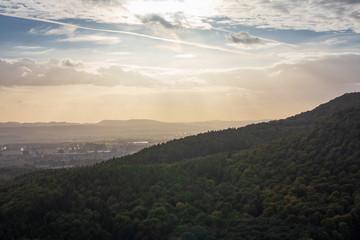 Landscape of Low Saxony in Germany .