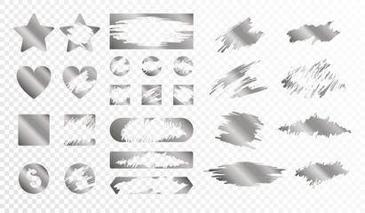 Obraz Scratch Cards Set - fototapety do salonu