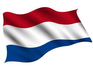 Obraz オランダ  国 旗 アイコン - fototapety do salonu