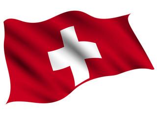 スイス  国 旗 アイコン