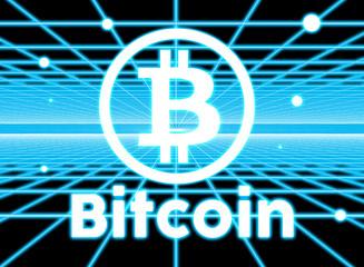 Bitcoin w sieci - fototapety na wymiar