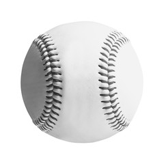 baseball isolated on white