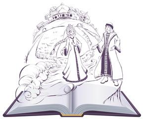 Tale of Tsar Saltan Swan princess pushkin fairy tale