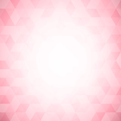 Abstract pink geometrical background