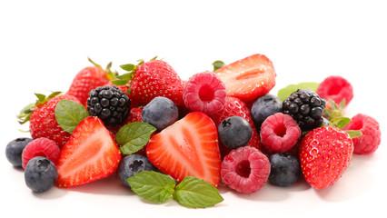 assorted berry fruit Fototapete