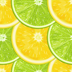 Lemon-lime seamless texture