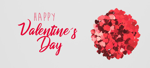 happy valentine´s day background with nice valentine text