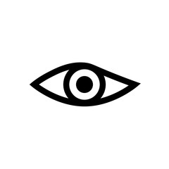 eye icon. sign design