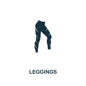 Leggings icon. Premium style design from fitness icon collection. Pixel perfect Leggings icon for web design, apps, software, print usage