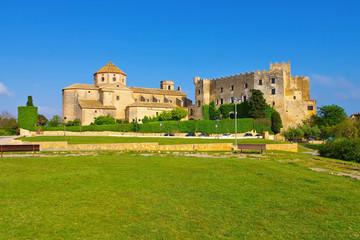 Altafulla Burg an der Costa Dorada in Spanien - Castell d Altafulla near Tarragona, Costa Dorada, Catalonia