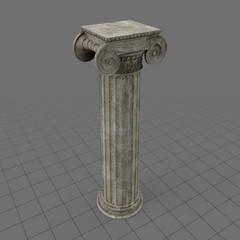Greek Erechtheum column