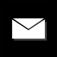 E Mail icon flat