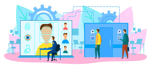 Software Engineers in Lab Designing AI Chatbot.
