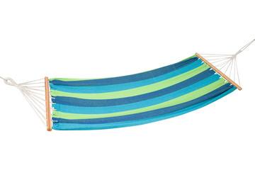 a  hammock isolated on white background