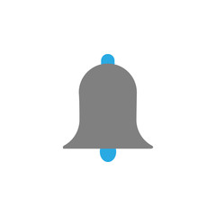 Alert and bell icon. Element of user interface icon for mobile concept and web apps. Detailed Alert and bell icon can be used for web and mobile
