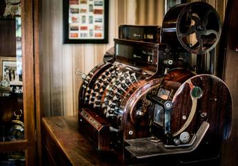 maquina registradora antigua