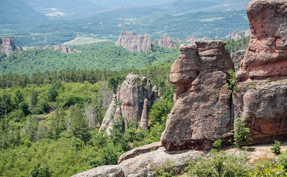 Belogradchik rocks, which have been placed on the New 7 Wonders of Nature Reserve List