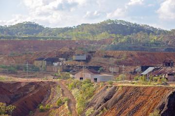 Abandoned Mt Morgan Australia Gold Mine