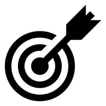 Target Bullseye Vector Icon