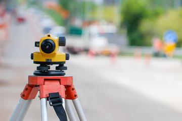 Auto level,Level camera,Survey of road level,Survey work for construction