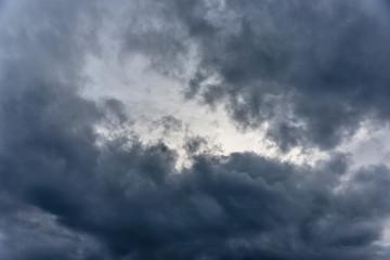 Cloudscape with Dark Storm Clouds