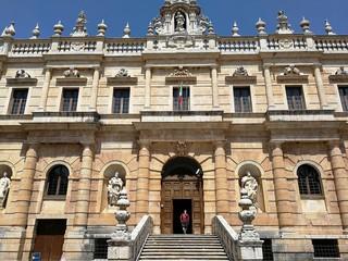 Certosa di San Lorenzo - Accesso alla Abbazia