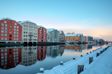 Winter day in Trondheim