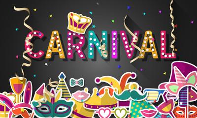 Celebration festive background for carnival festival