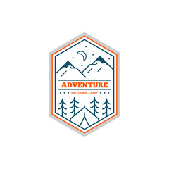 Camp logo design