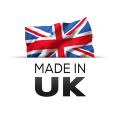 Made in UK England - Label