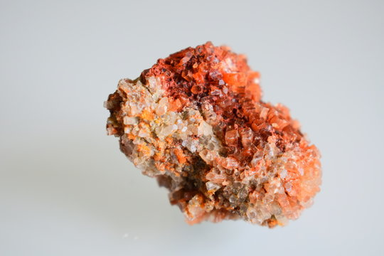 an aragonite mineral harvested