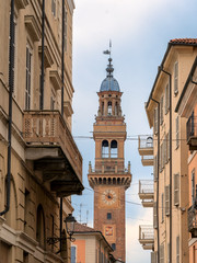 Municipal tower of Casale Monferrato, Piedmont, Italy