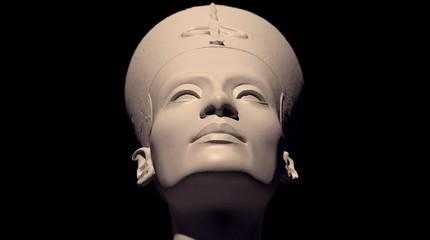 3D scanning of the bust of Neferneferuaten Nefertiti without painting #2