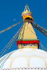Boudhanath - Bauddhanath Stupa, Kathmandu Valley, Nepal, Asia, Unesco World Heritage Site