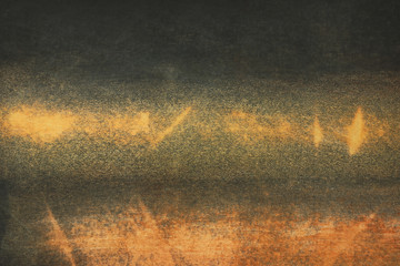 Macro image of old painted canvas, texture background
