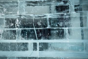 brique en glace transparente horizontale