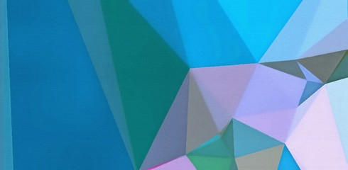 Chaotic triangles drawing abstract background. Original polygonal art pattern. Geometric texture with creative elements. Low poly wallpaper. Multicolor backdrop concept.