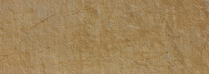Natural stone background texture, yellow, beige color, banner