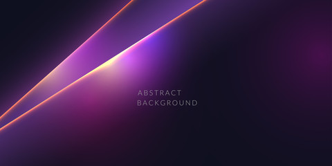 Vector abstract background with light lines. Vector illustration