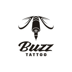 Tattoo and Hornet Wasp logo design