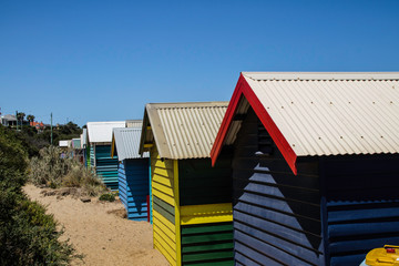 Cabana na praia