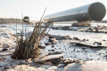 Erdgastrasse, Rohre, Pipeline