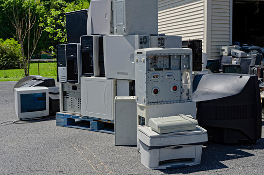 Electronic Equipment Ready For ReCycle