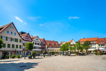 Öhringen, Marktplatz,  Wall mural