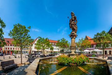Öhringen, Marktplatz
