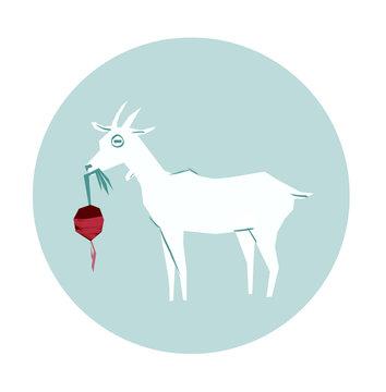Goat and Radish